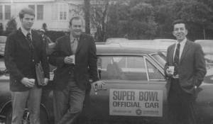 Super Bowl Official Car with &quot;Officials&quot;