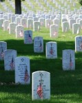 Graves at Arlington Memorial Day