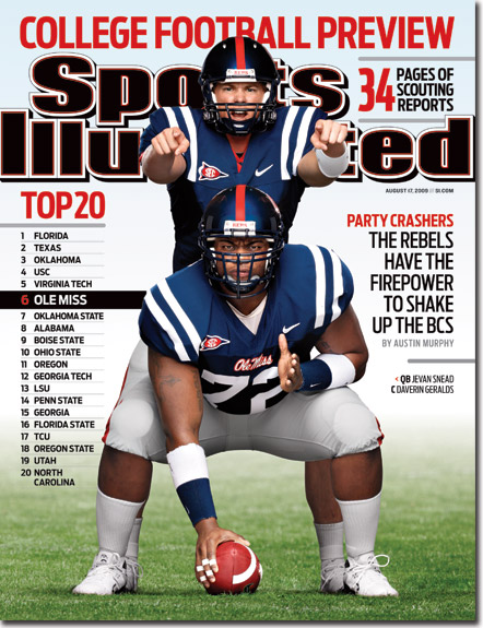 ole miss si cover